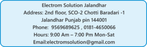 about About electrom solution adress